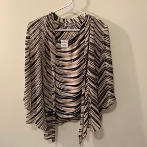🔥NEW2pc blouse JM Collection petite